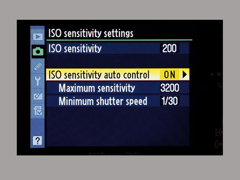 ISO Setting