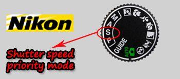 Nikon Shutter Priority
